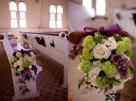 beautiful photos of purple church wedding decoration ideas