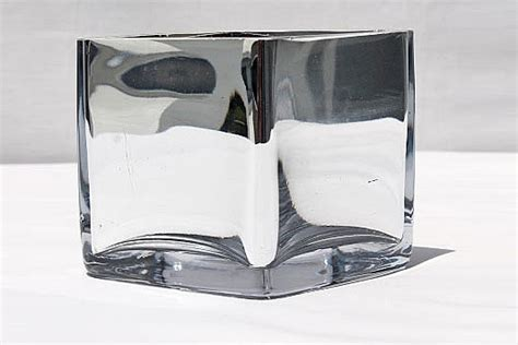 medium square mirror vase 15 x 15 cm mb009 funxion
