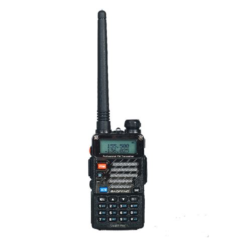 Baofeng Walkie Talkie Dual Band Two Way Radio 5w 128ch Fm A52 baofeng uv 5re plus walkie talkie dual band two way radio pofung uv 5re 5w 128ch uhf vhf fm vox