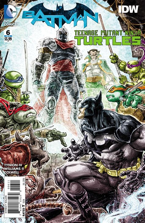 batman mutant turtles vol 1 exclusive preview batman mutant turtles