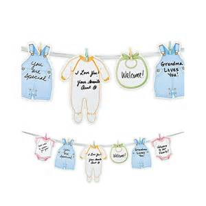 Welcome Home Baby Decorations welcome baby garland wilton advice garland baby shower