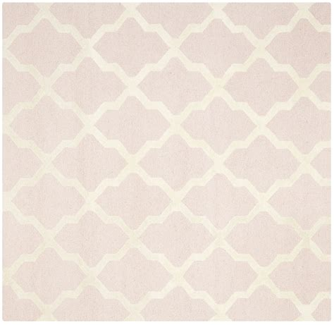 Pale Pink Area Rug Safavieh Cambridge Light Pink Ivory Wool Contemporary Area Rug Cam121m Ebay