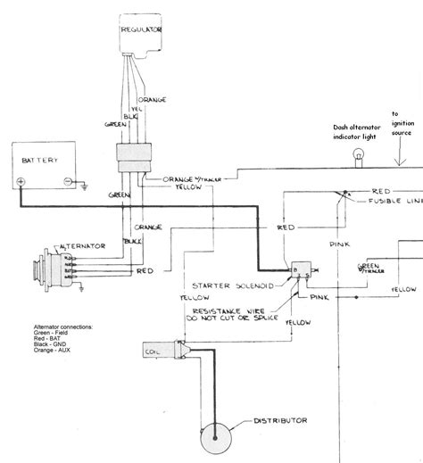 jeep alternator wiring diagram jeep alternator wiring diagram agnitum me