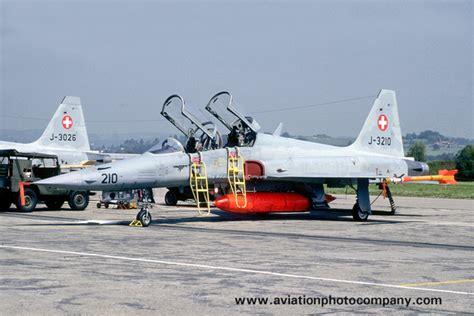 Swiss Army S 3189 the aviation photo company switzerland swiss air northrop f 5f tiger ii j 3210 1989