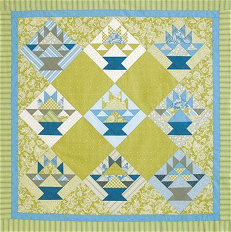 quilt pattern basket quilt inspiration free pattern day basket quilts