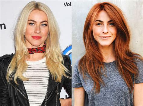 julianne huff new haircut julianne hough from stars epic hair transformations e news