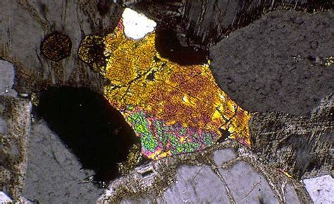 aegirine thin section thin sections geology 2224 with david landon at