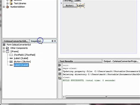 simple java swing gui exle making a simple gui app with netbeans doovi