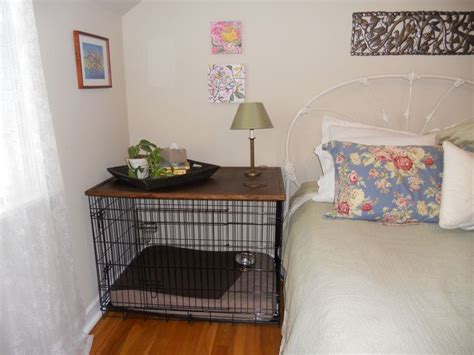puppy crate in bedroom or not best 25 dog crate furniture ideas that you will like on