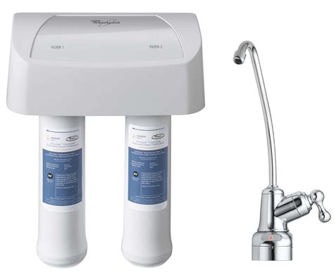 whirlpool under sink water filter under sink replacement water filter set 2pk whirlpool