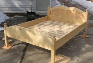 How To Assemble King Bed Frame Building A Bed Frame