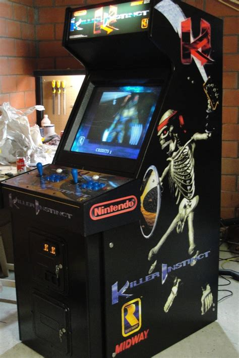 killer instinct arcade cabinet image gallery killer instinct arcade machine
