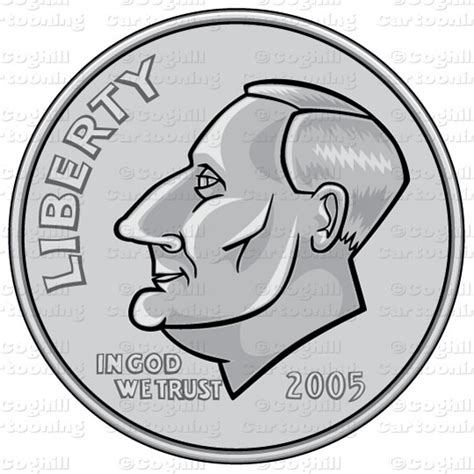 dime clipart us dime coin stock illustration clipart coghill