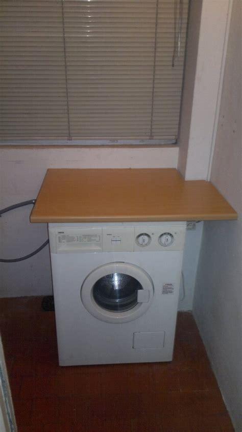 armario  mueble lavadora en terraza bricolaje