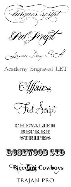 Wedding Running Fonts by 569 Best Calligraphy Styles Images On