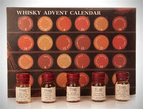 Whiskey Advent Calendar 2013 Whisky Advent Calendar Hiconsumption