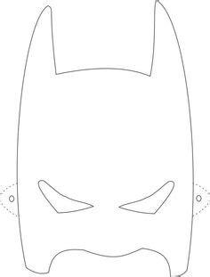 diy batman mask template free printable masks to color