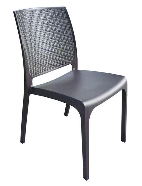 sedie per bar sedia da bar in polyrattan impilabile per esterni