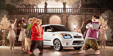 Kia Commercial With Mice Kia S Hamsters Return With A New Soul Commercial
