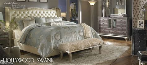 aico hollywood swank upholstered bedroom set buy hollywood swank eastern king upholstered bed by aico