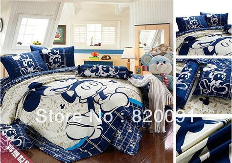 Bedcover Set Motif Mickey Mouse 160x200 Bed Cover Set Sprei Grow popular mickey mouse comforter sets buy cheap mickey mouse