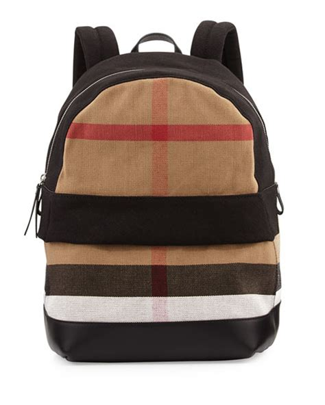 Home Design Exterior Online burberry tiller check amp leather backpack black