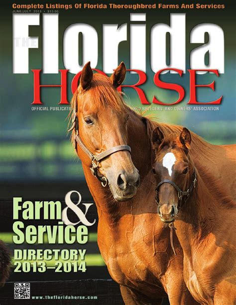 Florida Style Home Plans junejuly 2013 florida horse farm amp service directory by