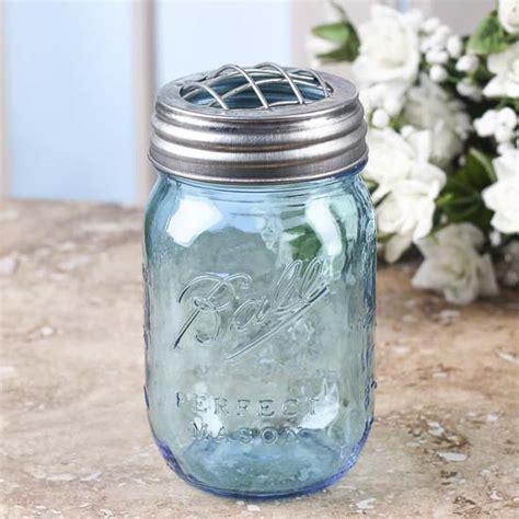 Vase Jar by Vintage Inspired Galvanized Flower Frog Jar Vase