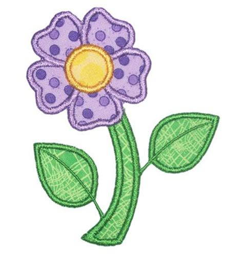 flower pattern for applique shannon stitches girl applique designs