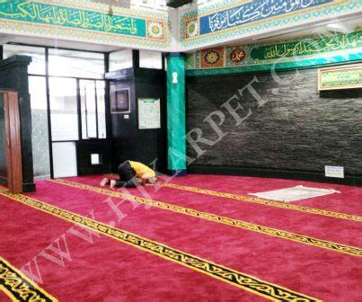 Karpet Masjid Tangerang pemasangan karpet masjid pelayanan pajak tangerang
