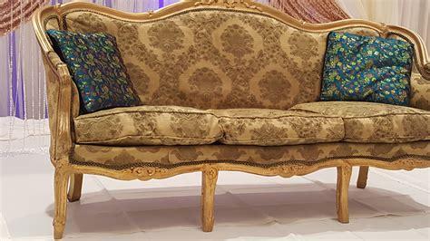 Sofa Rental Wedding Loveseat Couch Sofa Rental