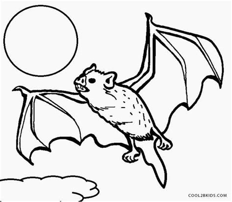 bat coloring page scary bat coloring pages coloring pages