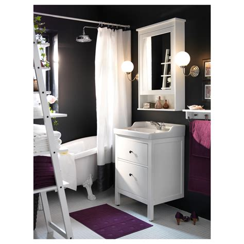 ikea bathroom cabinet hemnes mirror cabinet with 1 door white 63x16x98 cm ikea