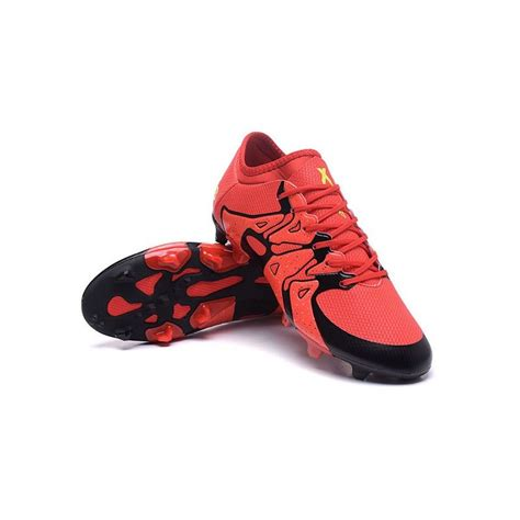 adidas crampons de football   fgag rouge noir