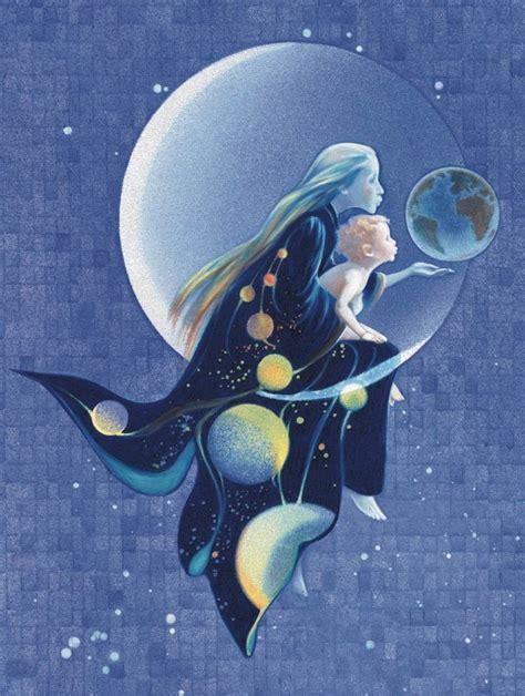 Child And Moon moon series arlene graston