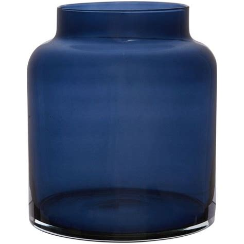 Navy Blue Glass Vases by Linea Navy Glass Small Vase Navy