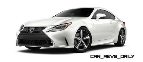 lexus sports car white 2015 lexus rc350 colors
