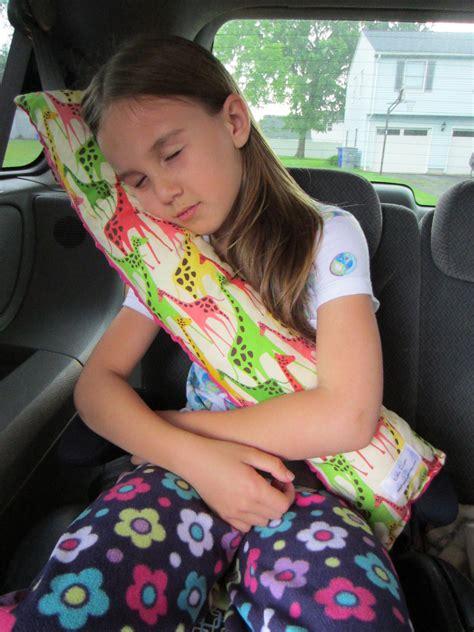 Seat Belt Pillows seat belt pillow with pocket design your by littlefingersgifts