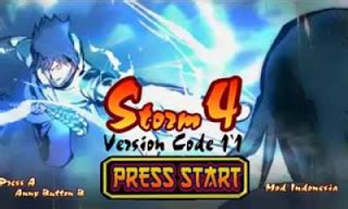 game naruto senki mod ninja storm 4 kumpulan game android naruto senki mod apk lintas android
