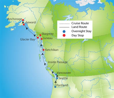 alaska cruise pacific northwest tour ymt vacations