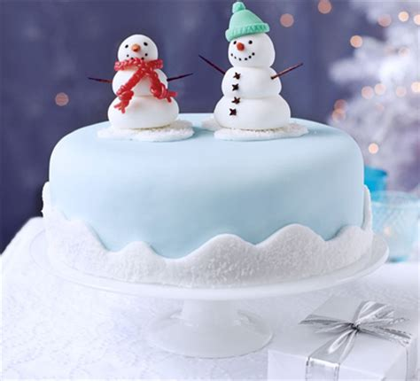 snowman friends cake decoration bbc good food