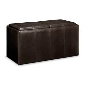 Ottoman With Trays 3 Pc Storage Ottoman With Trays Value City Furniture