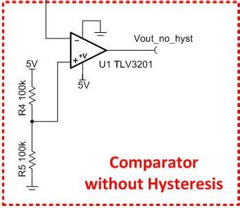 smd capacitor v105 hysteresis resistor calculator 28 images curing comparator instability with hysteresis