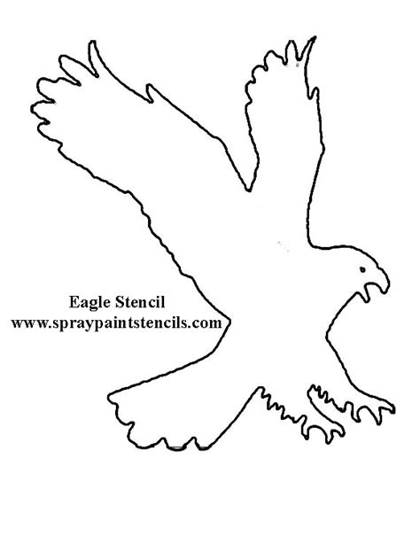 eagle template eagle stencil idea on eagles stencils and