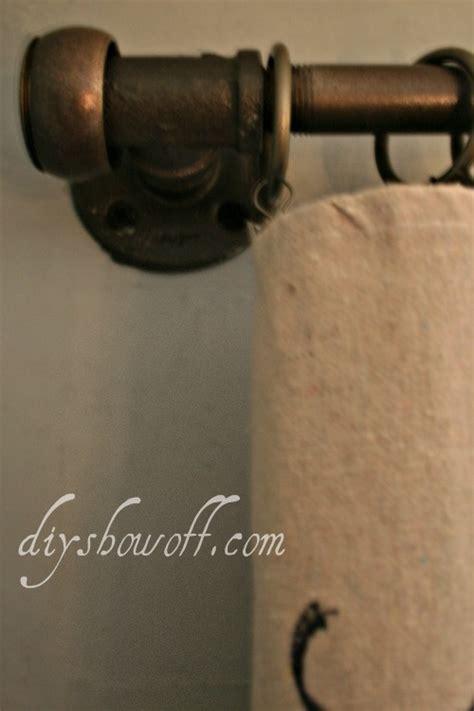 diy pipe curtain rod diy project parade diy pipe curtain rod tutorial