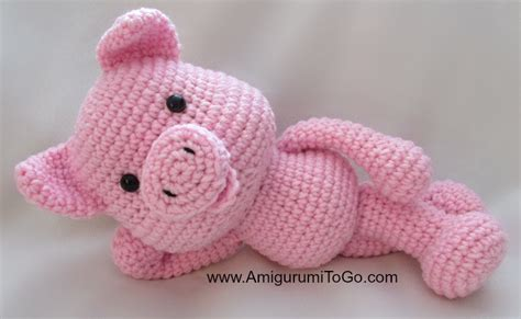 pattern crochet pig big piggy little pig new pattern coming amigurumi to go