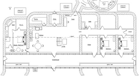 4 bedroom earthship plans photos and