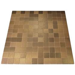metallic backsplash tiles peel stick peel stick metal tiles for kitchen backsplashes copper