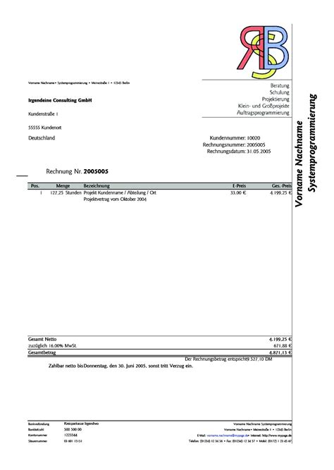 german invoice template german invoice template www gnome look org