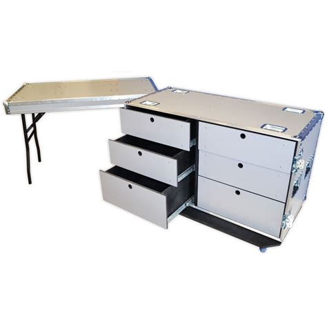 Drawer Flight by 6 Drawer Wheeled Toolbox Flight